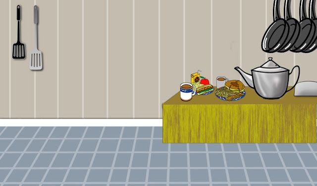 Design Photography Kitchen Cartoon From Game Hd Background Image