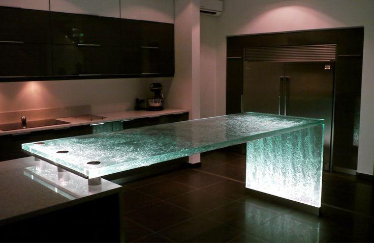 oberfläche aus glas für bars und küchenarbeitsplatten-think glass