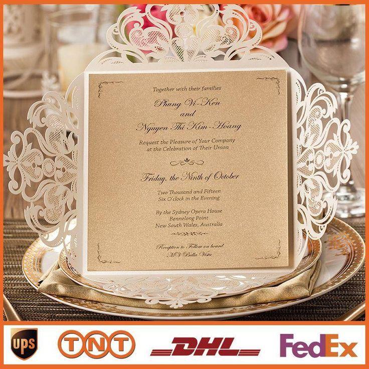 62 best Wedding invitations images on Pinterest | Invitation ideas ...
