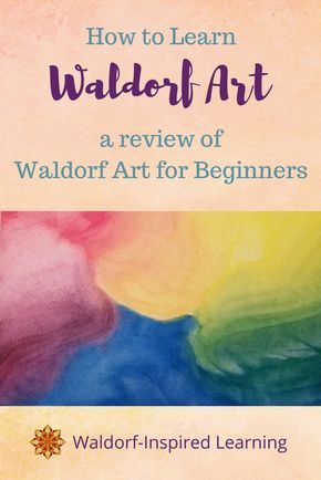 Wondering how to learn Waldorf art? The crayon drawings, the watercolor paintings, and oh, those colorful chalkboard drawings! Waldorf Art for Beginners. Waldorfish   Homeschool art   watercolor   chalk drawing   block crayons