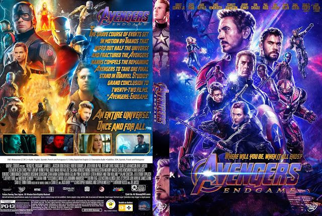 Avengers Endgame Dvd Cover Cover Addict Collection Avengers