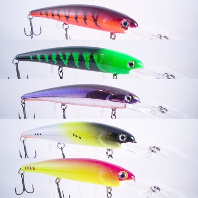 buy 10 GET 5 FREE Walleye /& White Bass Fishing Flies **NEW COLORS FOR 2019**