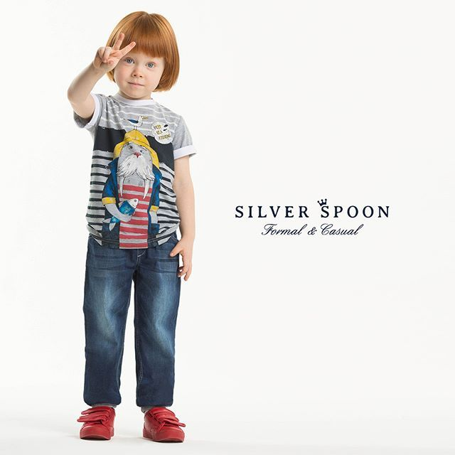 Всем мир и любовь😁😉На фото наша новая коллекция #SilverSpoonCasual! Раскрасить детские будни яркими красками можно просто выбрав несколько вещей с веселыми принтами в наших магазинах!👽😻🐻🐍🐧  ⭐⭐⭐  Примите участие в нашем конкурсе репостов и выиграйте комплект для вашего ребенка к летнему сезону. Подробности в ленте!  ⭐⭐⭐ #silverspoon #детскаямода #стильнаяодежда_дети #коллекциявесналето_дети #модадлядетей2017 #детскаямода2017 #магазиндетскойодежды #детскиерадости #летоэтомаленькаяжизнь…