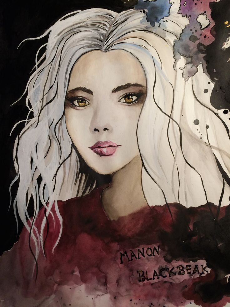 Manon Blackbeak of the Throne of Glass series