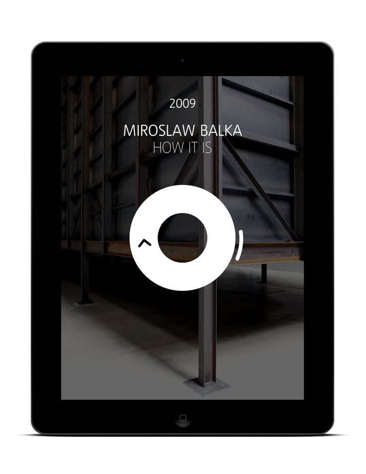 Silver Award for Tate Unilever Series iPad App by Cogapp (2013)