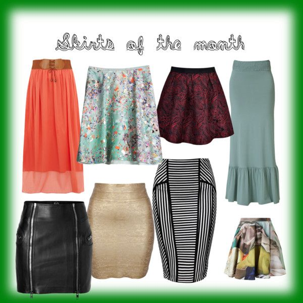 """""""My skirts"""" by seliriana on Polyvore"""