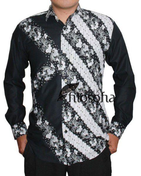 Kemeja Batik Pria 015 - Kode BP015 - Batik Garutan - Batik Cap - Bahan Katun - Tanpa puring - Jahitan standar butik - Tersedia ukuran M