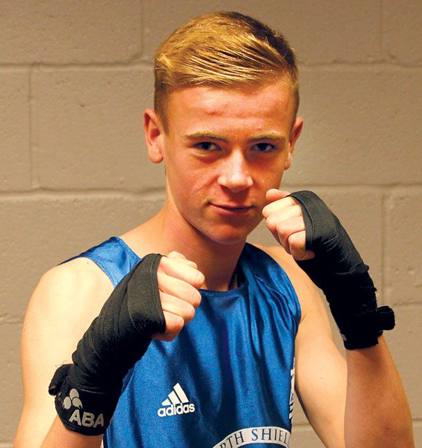 Sixteen year old Callum Bell is a great example of how the #boxing club at North Shields is helping young people within the community. Callum decided to join the club three years ago after his school and behaviour problems resulted in him being transferred to a school designed for children who require additional attention and support.