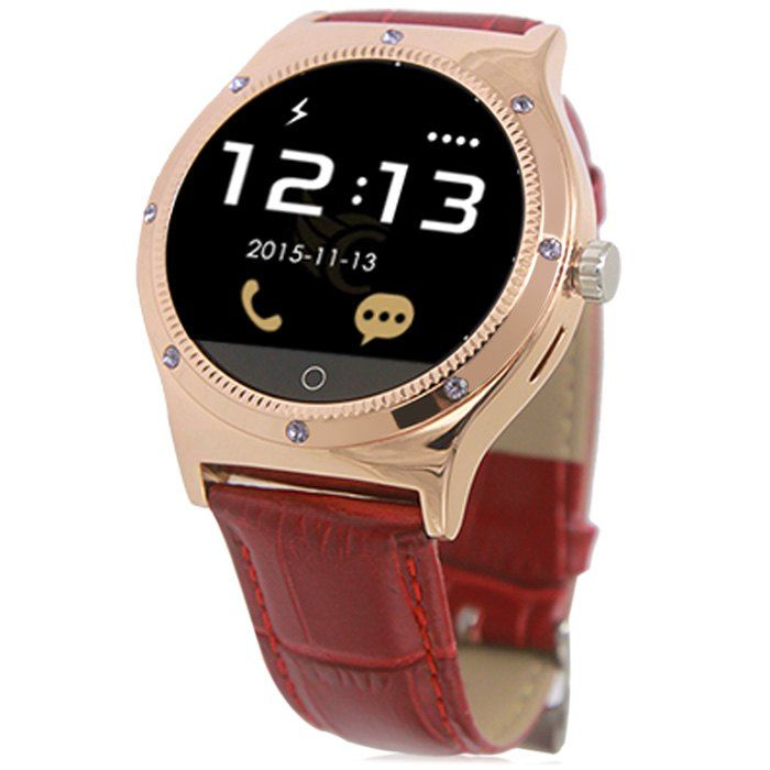 RWATCH R11S MTK2501 Smart Bluetooth Watch IP67 Camera Remote Heart Rate Monitor Genuine Leather Band #jewelry, #women, #men, #hats, #watches
