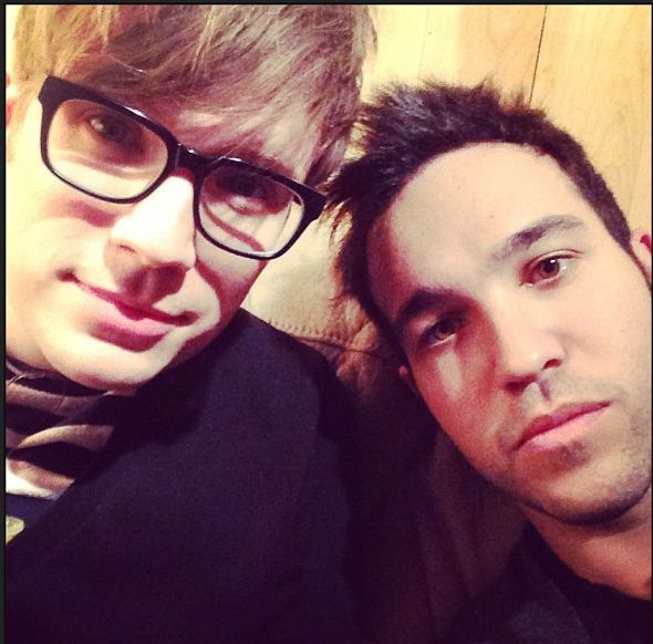 Peterick was also fully intact. | Fall Out Boy Is Back And It's Awesome