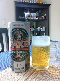 El blog cervecero de Mr.Beer-gt: Faxe Lager Beer Limited Edition