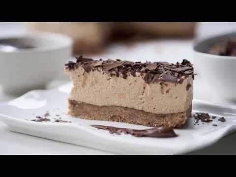 Chocolate Hazelnut Cheesecake - Goodman Fielder Food Service Recipes - YouTube