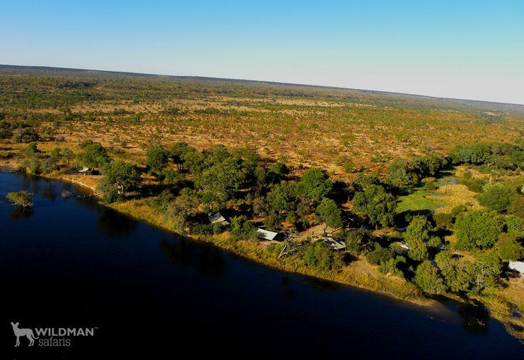 Pioneers Camp, a beautiful, luxury and private safari camp located in the Zambezi National Park just upstream from the famous Victoria Falls. #victoriafalls #zimbabwe #zambeziriver #travelafrica #africansafari