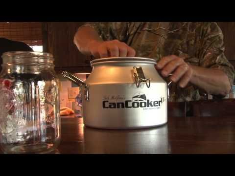 Easy Cooking How To with the Can Cooker Jr - Backwoods Life - YouTube