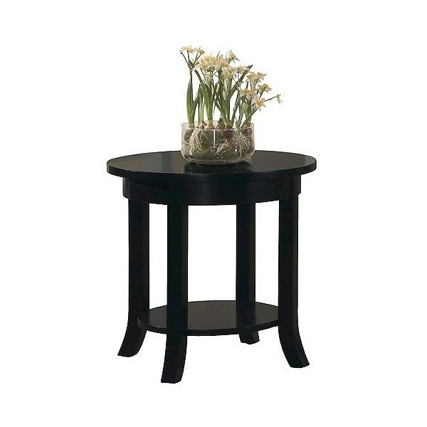 Gardena End Table Black (150 CAD) ❤ Liked On Polyvore Featuring Home,  Furniture