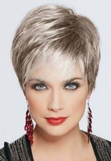 42+ Trendy hairstyles short round face over 50