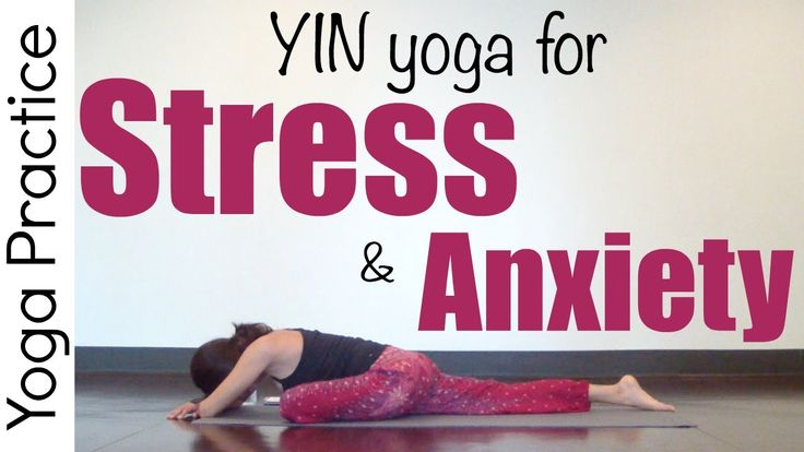 30 Minute Yin Yoga for Stress & Anxiety