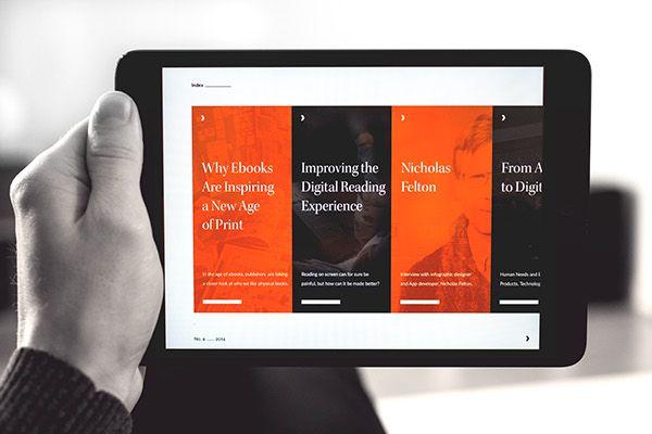 Verso – Digital Magazine on Behance