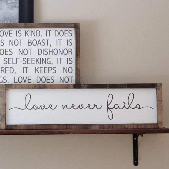 This painted wood sign will make a beautiful addition to your home decor. Each of our signs are handmade. Although we try to prevent it, there may