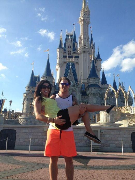 Emmett & Jillian in Florida at Disneyworld!