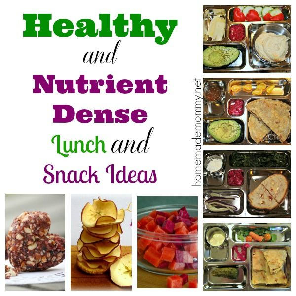 BACK TO SCHOOL time! Healthy AND Nutrient Dense School Lunch and Snack Ideas from Homemade Mommy