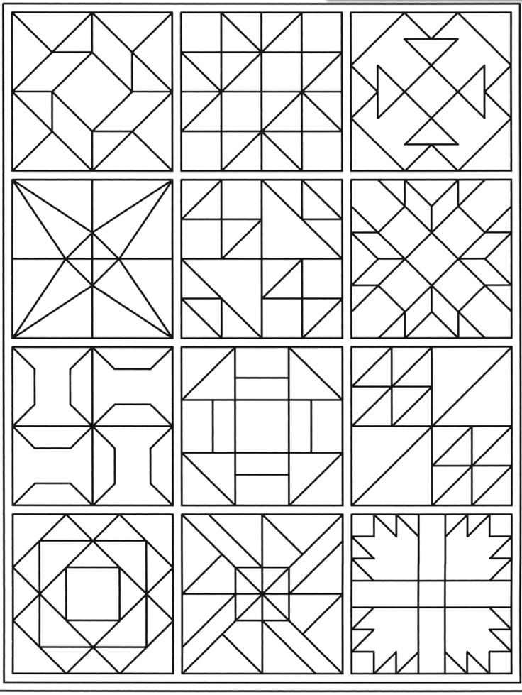 Lone star coloring planner Inspirations Quilt Blocks