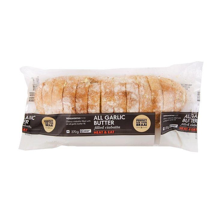 Heat & Eat All Garlic Butter Filled Ciabatta 370g