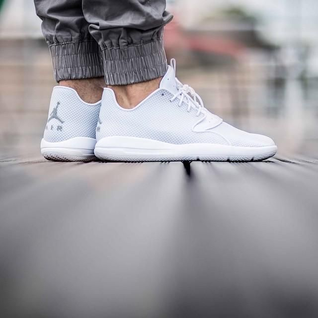 quality design f1b1a 23b0d switzerland sneaker store 4342b 1b5e9 on foot look at the white wolf grey  jordan eclipse synthetic