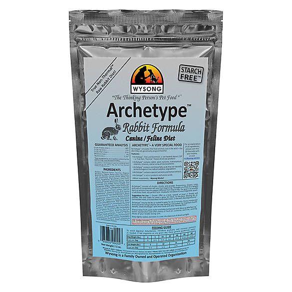 Wysong Archetype Freeze Dried Raw Dog Cat Food Rabbit Cat Freeze Dried Food Petsmart Raw Dog Food Recipes Raw Dog Food Diet Dog Food Recipes