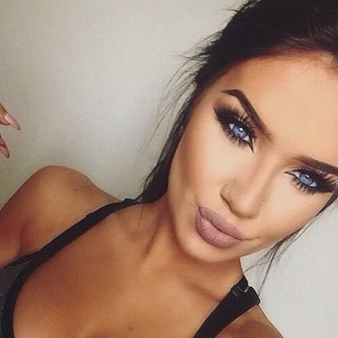 Makeup For Blue Eyes Dark Hair - Makeup Vidalondon