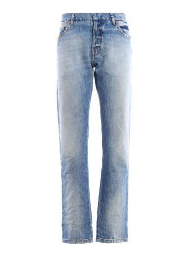 VALENTINO Valentino Abbigliamento Denim Rockstud. #valentino #cloth #trousers