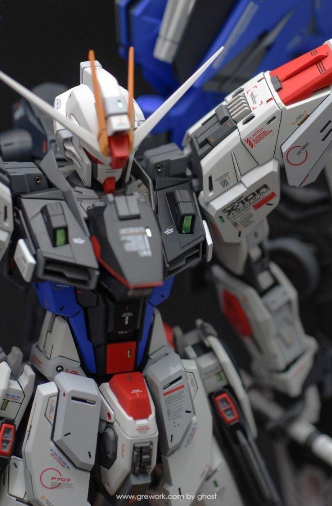 GUNDAM GUY: 1/100 Freedom Gundam - Customized Build