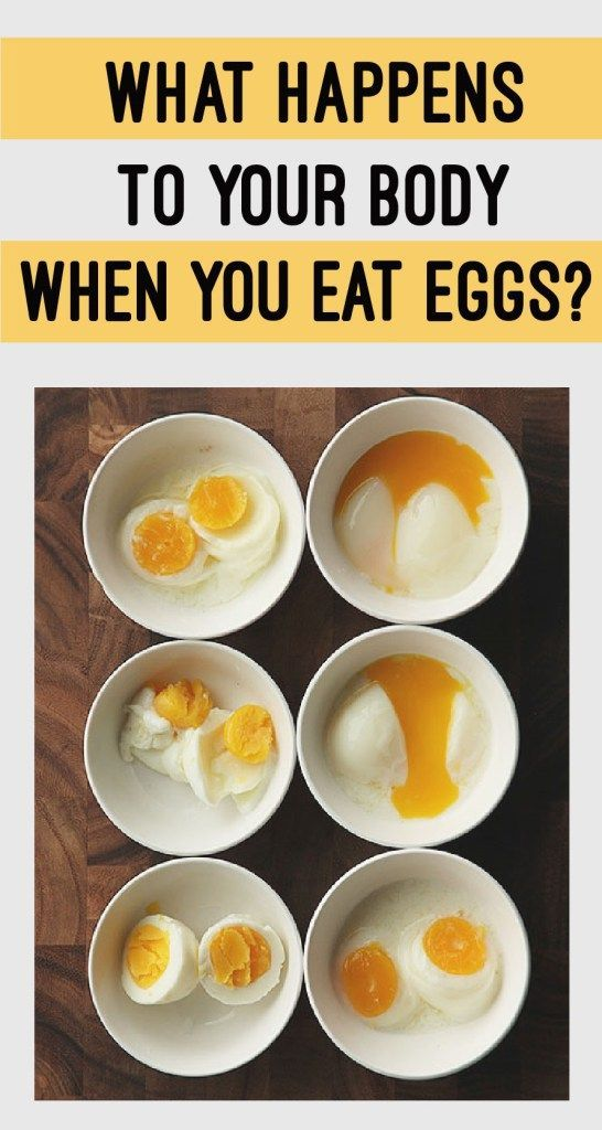 WHAT HAPPENS TO YOUR BODY WHEN YOU EAT EGGS?