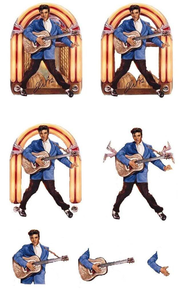3d sheets photo:  Elvis2.jpg, 3d Elvis, great for any person who loves Elvis, as a card