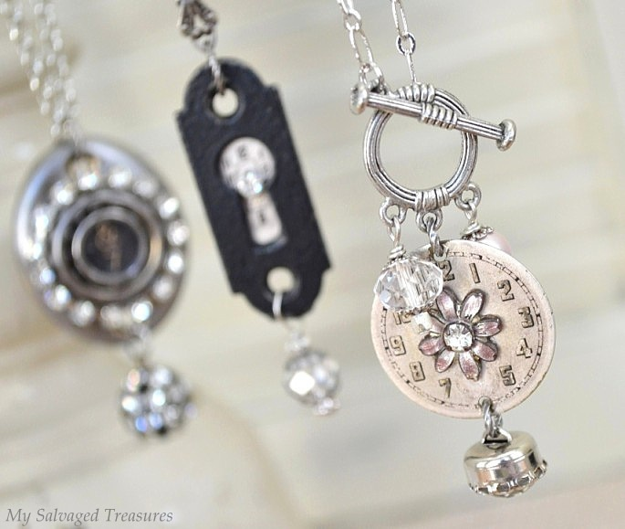 Vintage Hardware Necklaces