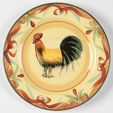 Pfaltzgraff Tuscan Rooster Salad Plate Fine China Dinnerware by Pfaltzgraff. $7.99. Pfaltzgraff - & 184 best Pfaltzgraff images on Pinterest   Dinnerware Flatware and ...