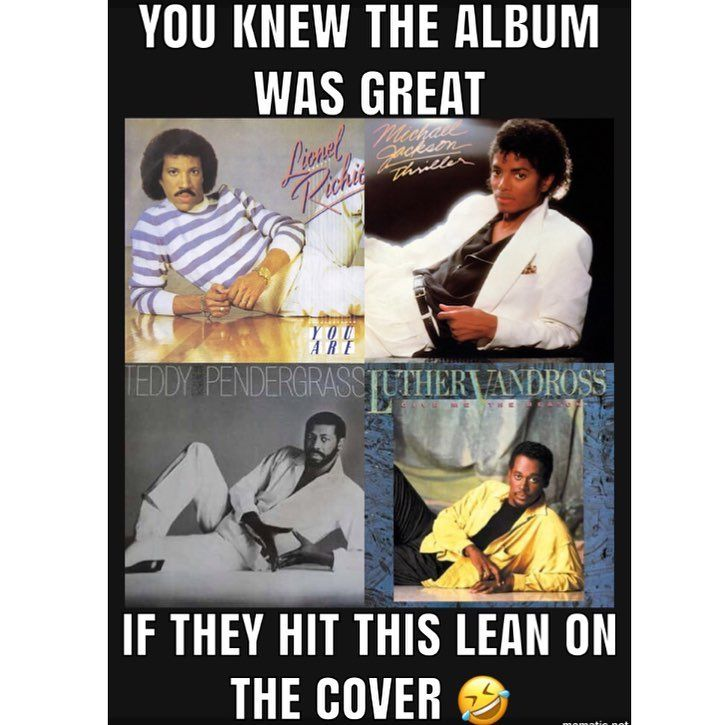 You Knew The Album Was Great When They Hit This Lean On The Album Cover 80s Kids Rule 80skidsrule On Instagram Funny Memes 80s Humor Greatest Album Covers