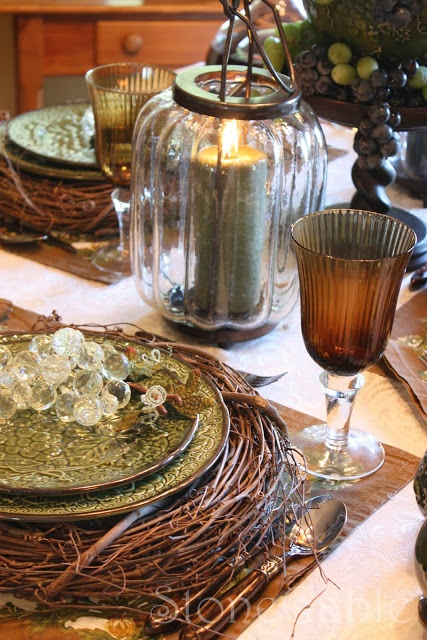 StoneGable: Vineyard Tablescape