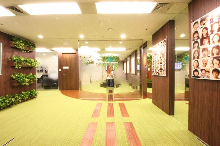 公園があるオフィス|オフィスデザイン事例|デザイナーズオフィスのヴィス