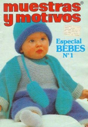 Muestras y Motivos Especial Bebes 1 (вязание спицами)