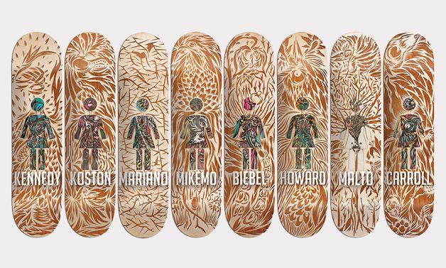 """Swanski x Girl Skateboards 2013 """"OG Series"""" Skateboard Decks • Highsnobiety"""