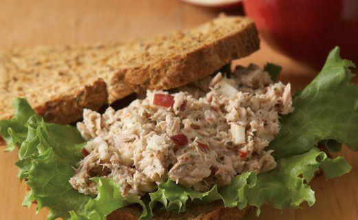 Epicure's Apple Tuna Sandwich - Delicious, easy and Healthy-  Epicure Selections avec Jocelyne Roy - jocelyne_roy@rogers.com