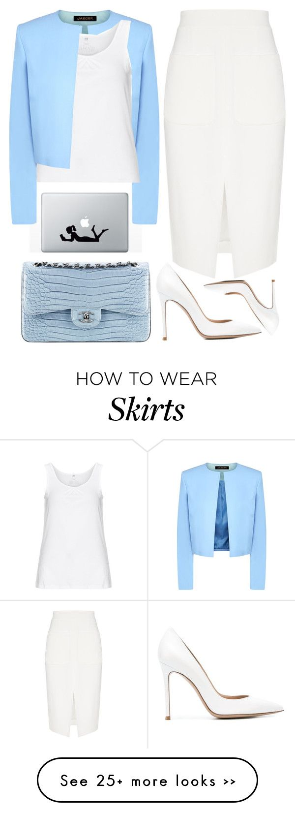 """""""chanel"""" by ecem1 on Polyvore Love color combo"""