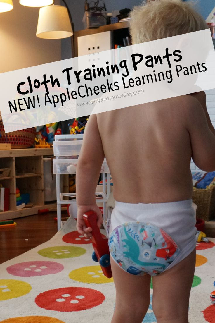 AppleCheeks Learning Pants - Revised - New - Bamboo - Training Pants - Cloth Trainers for Potty Training - Potty Learning - Toddlers - Made in Canada