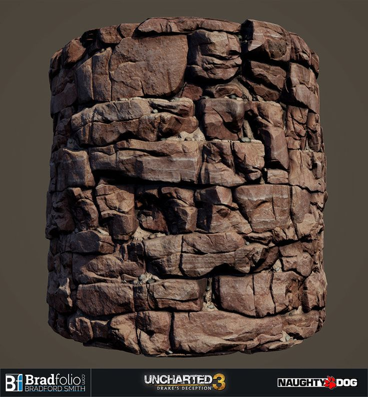 ArtStation - Uncharted 3: Basic Material Samples, Bradford Smith
