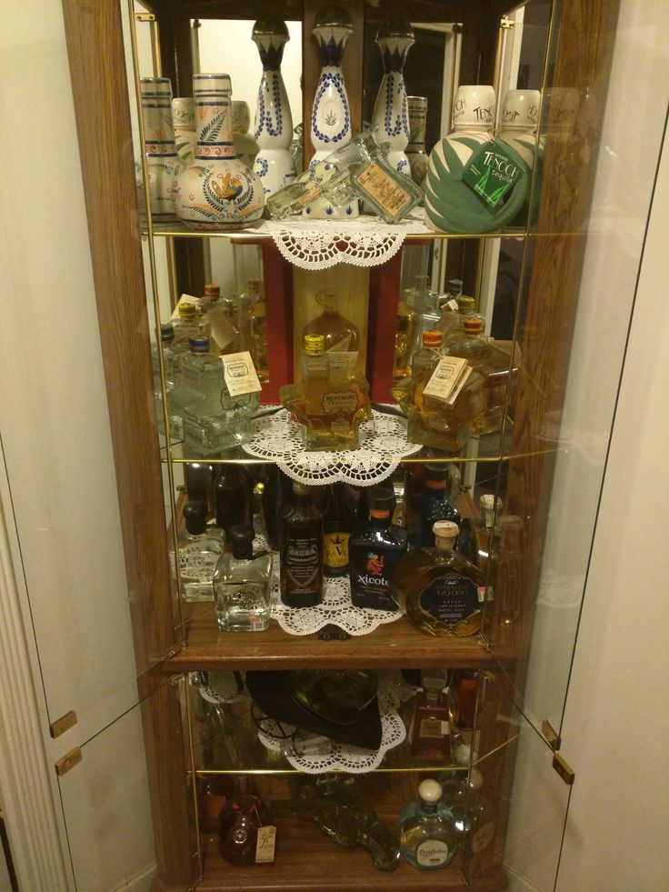 Figured I'd share my tequila display for National Tequila Day #tequila #Mexico #shots #party #friends #Margarita