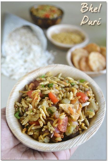 Bhel Puri - Indian Chat : http://www.sharmispassions.com/2012/03/bhel-puri-recipe-bhel-poori.html
