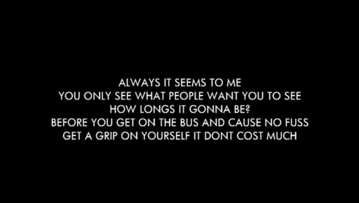 Oasis - Whatever lyrics