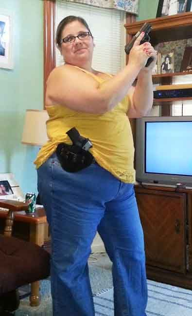 How To Concealed Carry As A Larger Women seriously we are not all size 4 but we shoot.