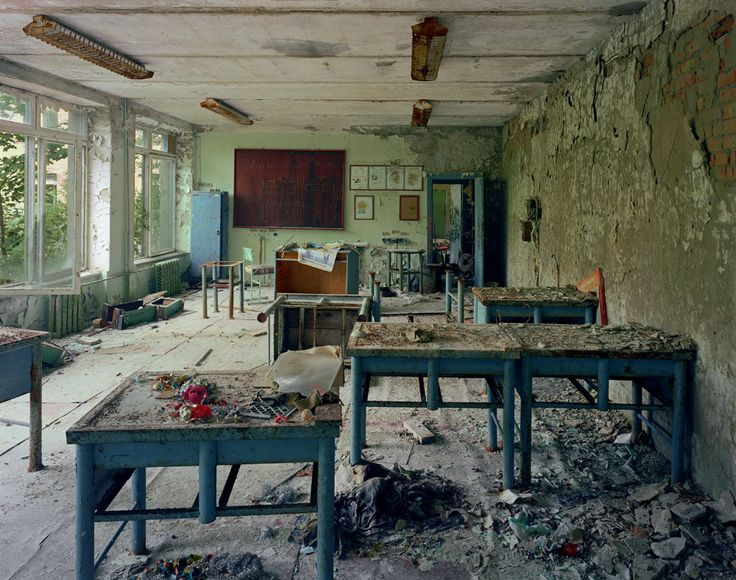 Robert Polidori, Chernobyl